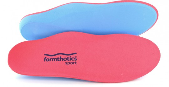 Wkładki ortopedyczne Formthotics – zastosowanie