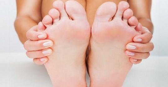 Odciski na stopach – leczenie