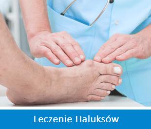 haluksy leczenie operacje usuwanie korekcja specjalizacje