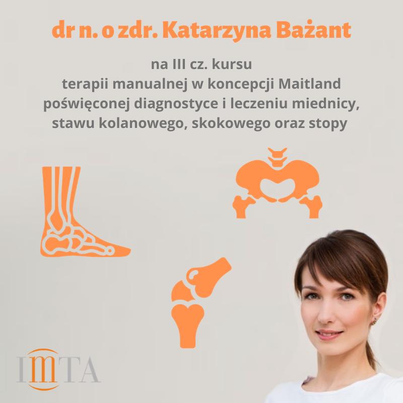 Katarzyna Bażant nakursie Maitland
