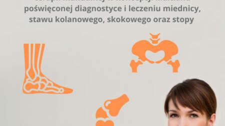 Fizjoterapeutka Katarzyna Bażant